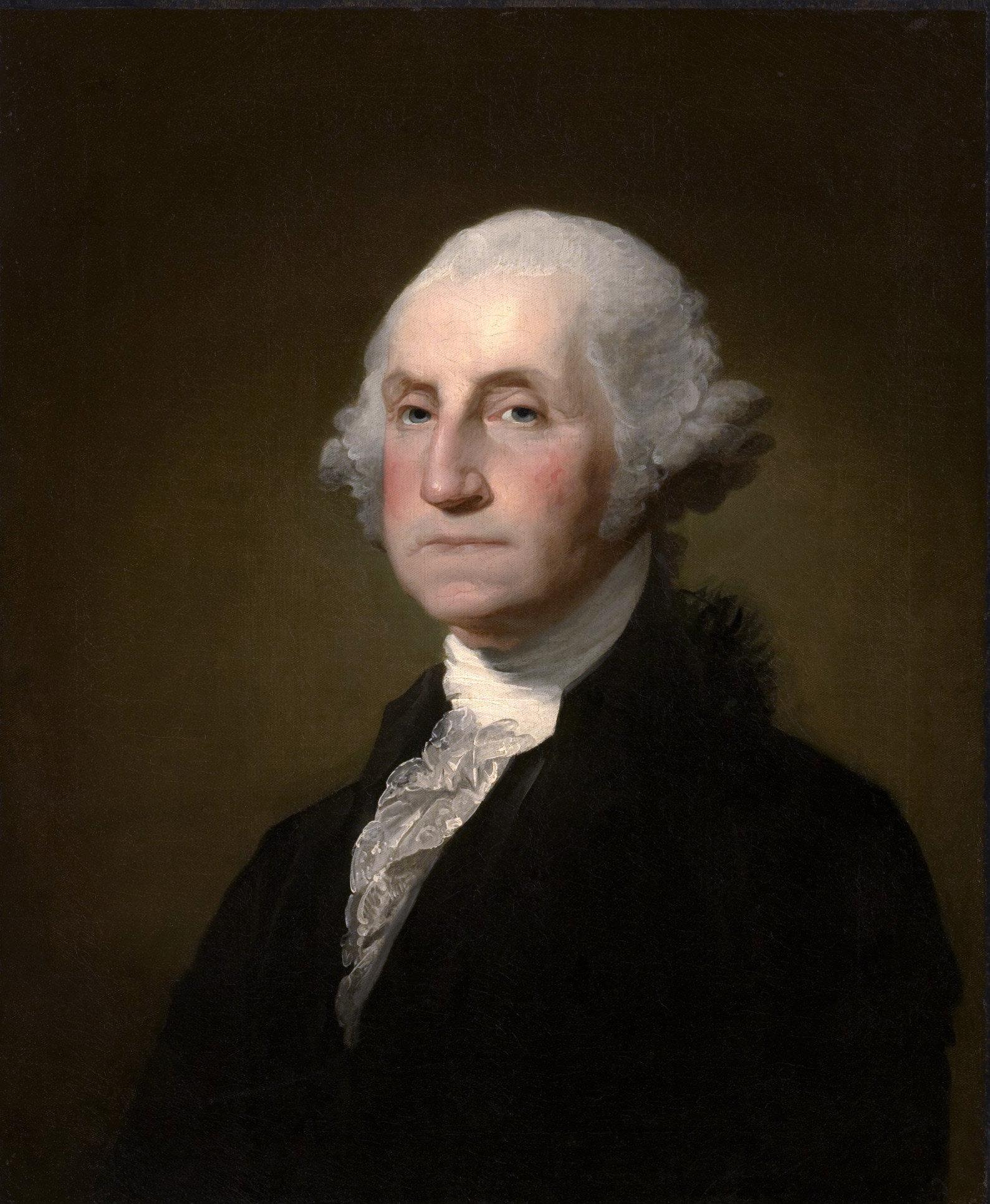 El retrato de George Washington de Gilbert Stuart, 1797