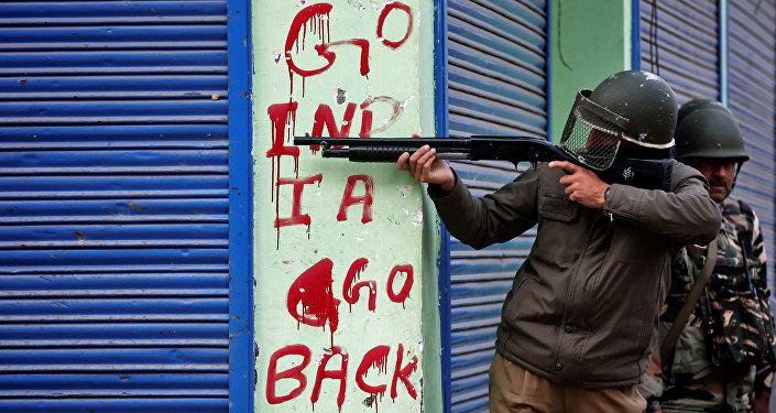 Los enfrentamientos en Jammu y Cachemira (archivo)