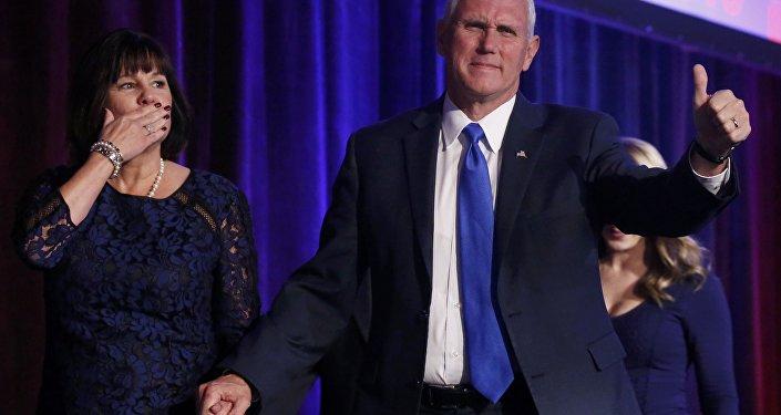 Mike Pence, vicepresidente de EEUU