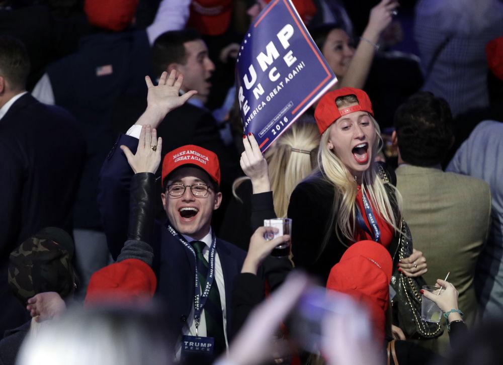 Make America Great Again: el triunfo de Trump, en imágenes