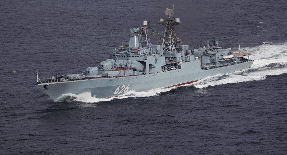 Buque antisubmarino ruso Vicealmirante Kulakov