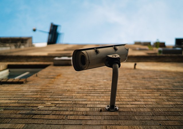 Una cámara de seguridad (imagen referencial)
