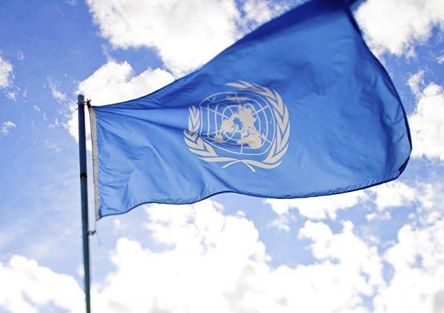 La bandera de la ONU (imagen referencial)