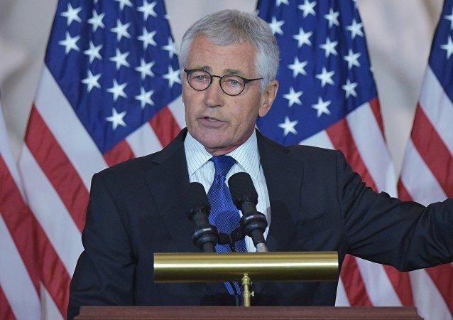 Chuck Hagel, el exsecretario de Defensa de EEUU