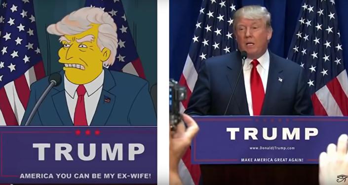 La 'profecía' de Los Simpsons y la victoria de Trump