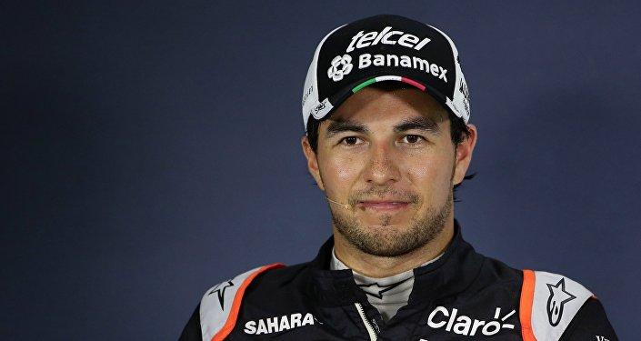 Sergio Checo Pérez, piloto mexicano de Fórmula 1
