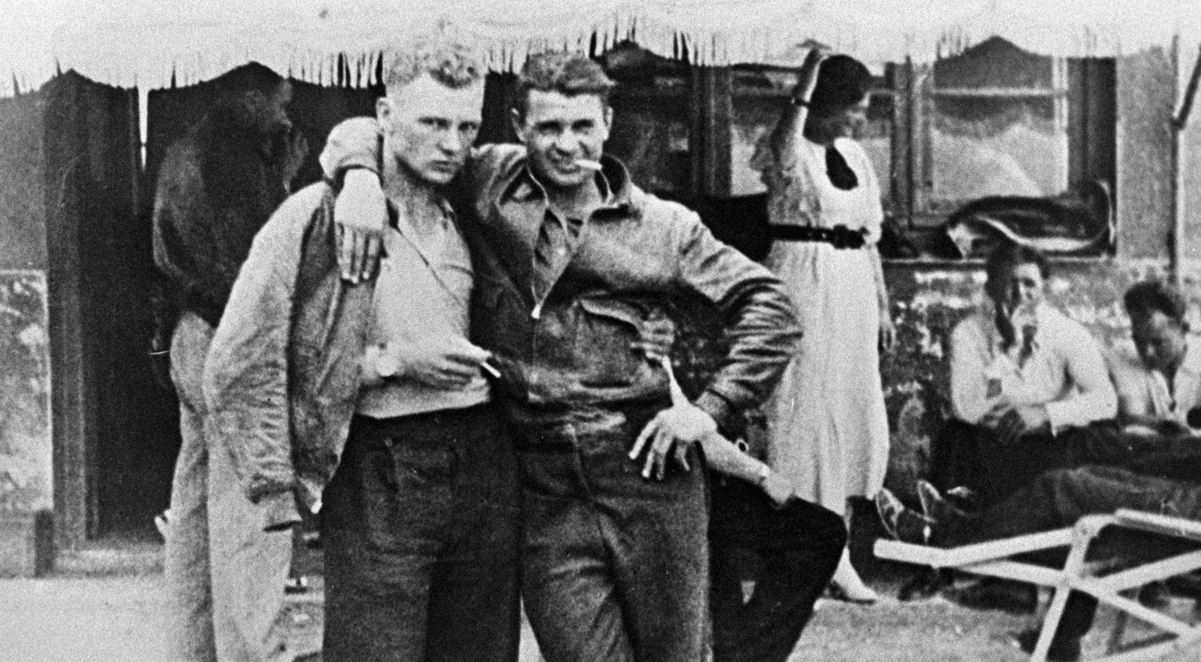 Voluntarios de las brigadas internacionales durante la guerra civil española