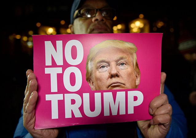 Protestas contra la victoria de Donald Trump (archivo)
