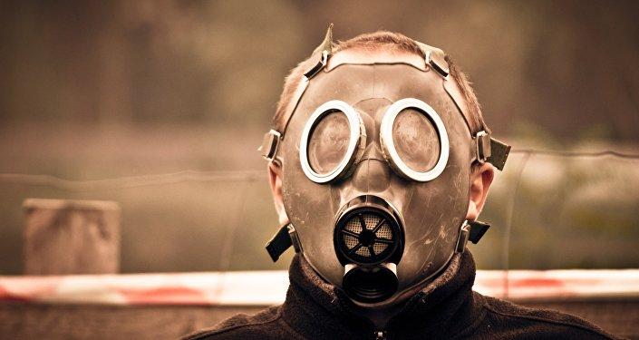 Un hombre enmascarado