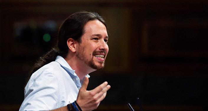 Podemos presenta moción de censura contra español Rajoy