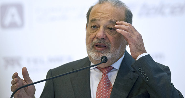 Multimillonario mexicano Carlos Slim