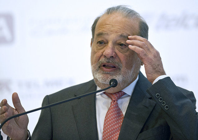 Carlos Slim, multimillonario mexicano (archivo)