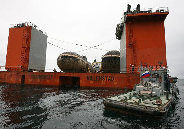 Los submarinos Shuka-B