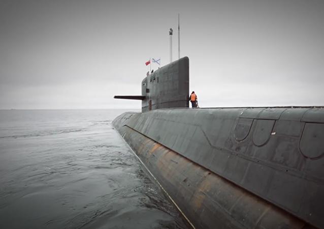 Un submarino nuclear ruso