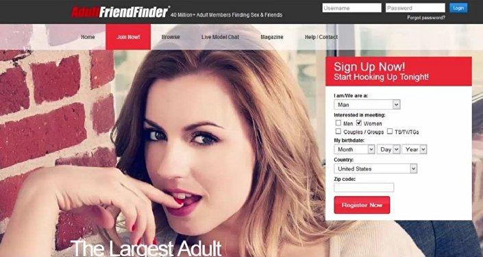 Sitio de citas AdultFriendFinder.com
