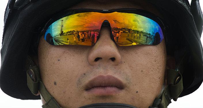 Un soldado chino