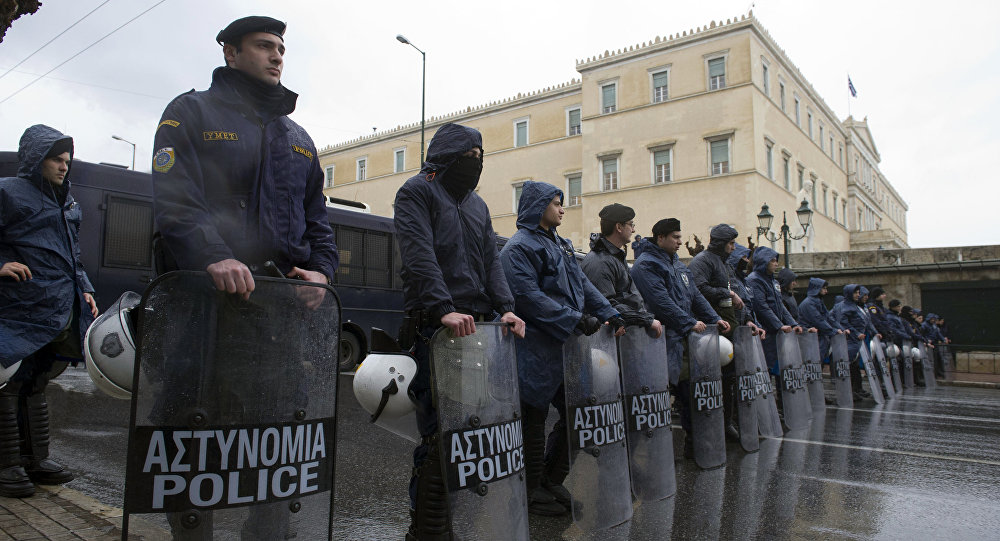Policía griega (archivo)