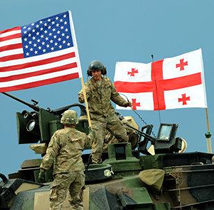 Maniobras conjuntas de OTAN y Georgia (archivo)