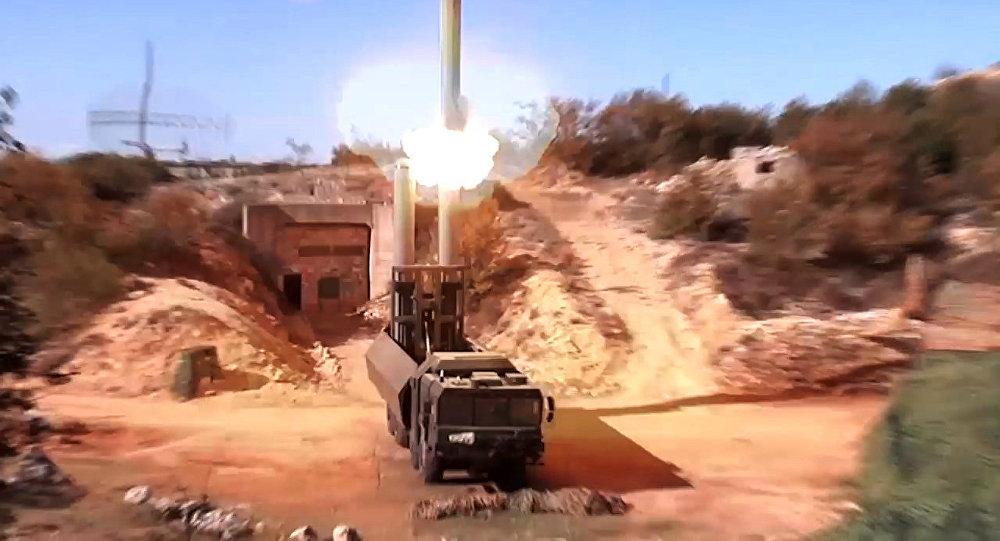 Sistema de misiles Bastión en acción