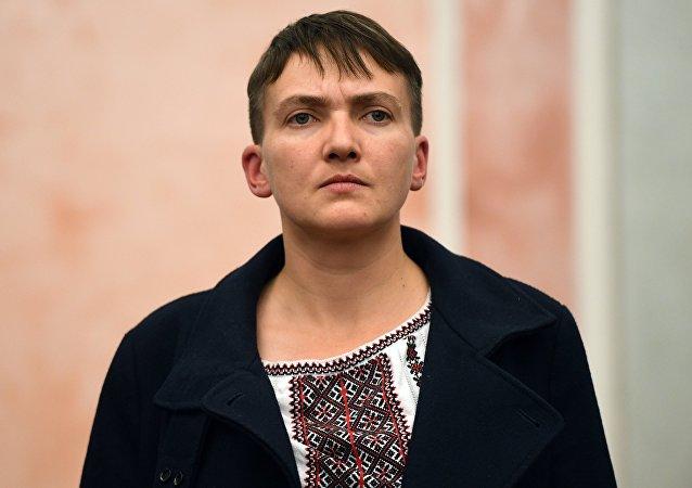 Nadezhda Sávchenko, diputada ucraniana (archivo)