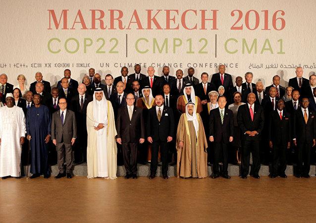 La Primera Reunión de las Partes del Acuerdo de París en la ciudad marroquí de Marrakech