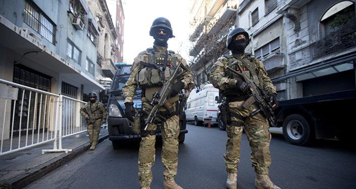 Policía de Argentina (archivo)