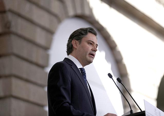 Aurelio Nuño, secretario de Educación Pública de México