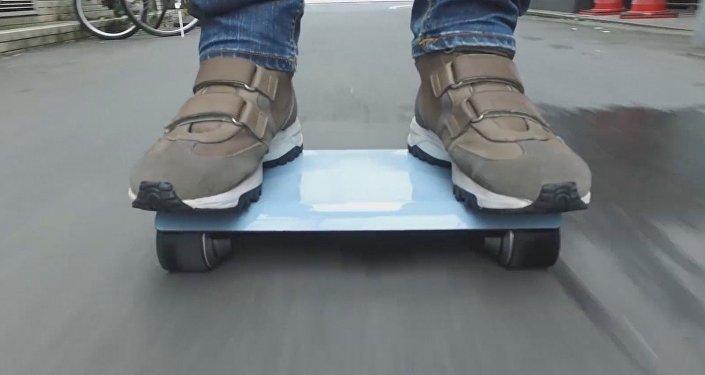 Walk Car, el vehículo más pequeño del mundo.