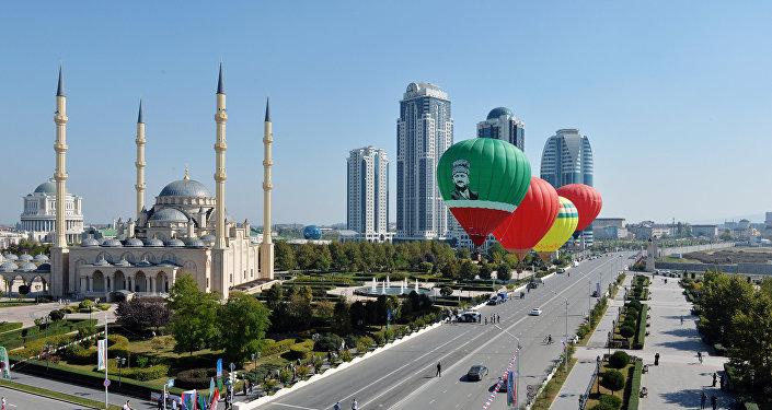 La ciudad de Grozni de hoy