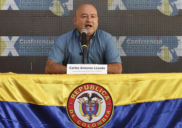 Julián Gallo Cubillos, alias Carlos Antonio Lozada, uno de los líderes de las FARC