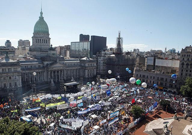 Protestas sociales en Argentina