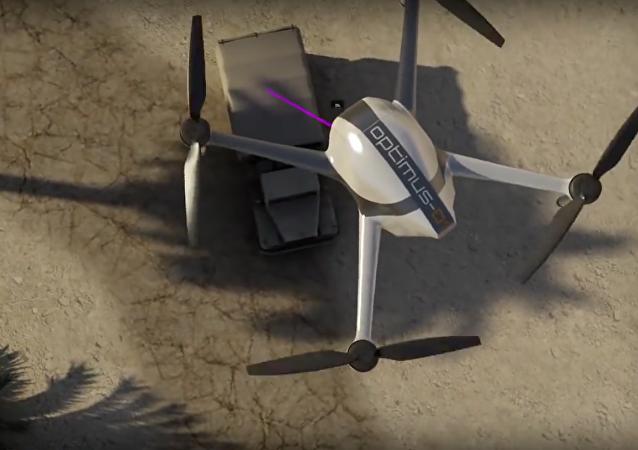 LDS SpectroDrone, un dron capaz de detectar explosivos