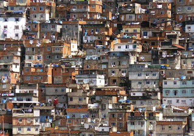 Una favela (imagen referencial)