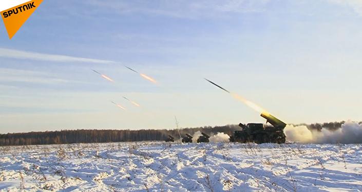 El día de las Tropas de Misiles y Artillería rusas