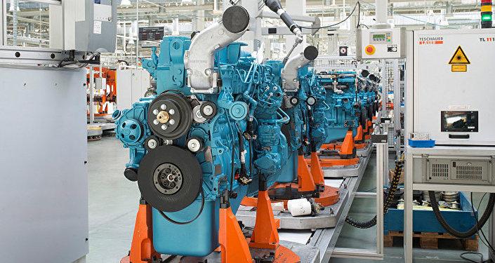 Producción de motores en Rusia