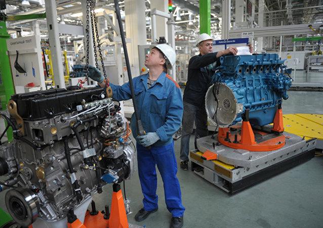 La Planta de Motores de Yaroslavl