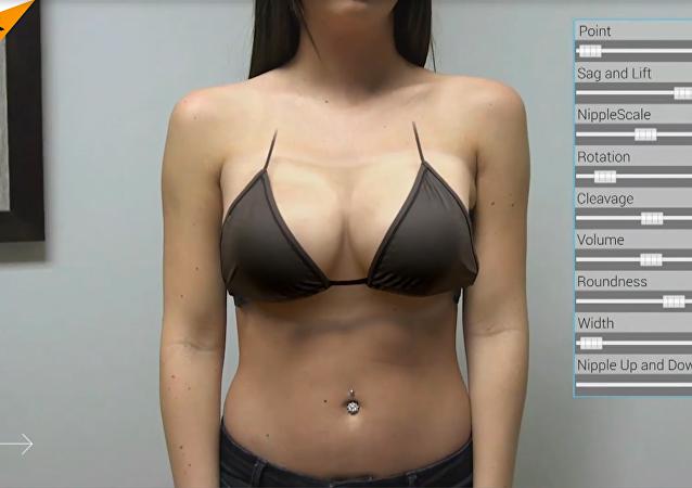 Un nuevo dispositivo 'aumenta' los senos de las mujeres