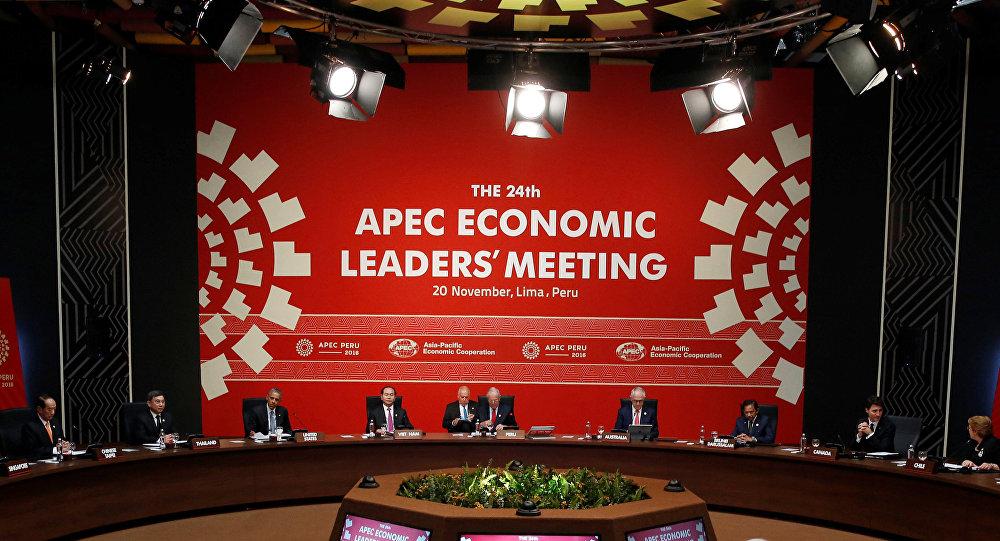 Cumbre de la APEC en Lima, Peru (archivo)