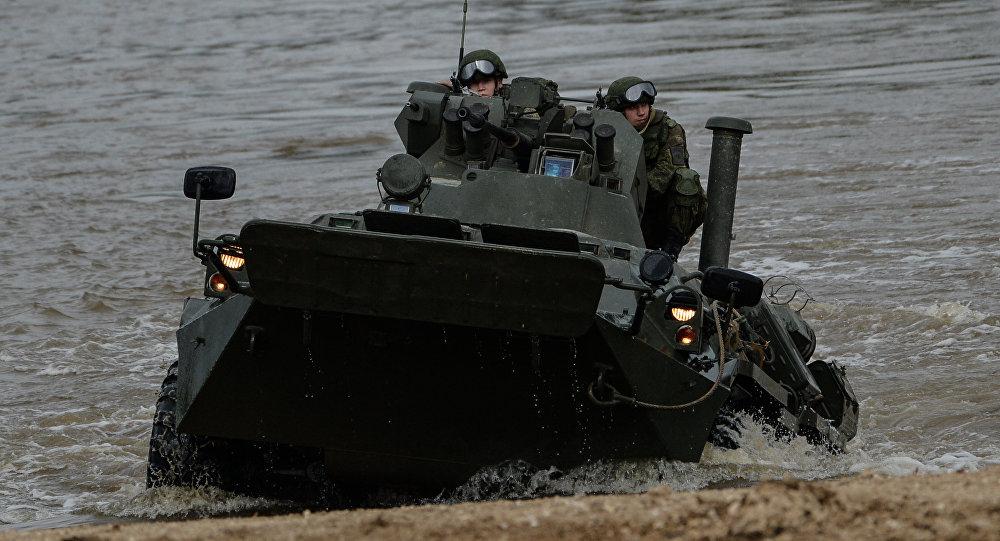 Carro de combate BTR-82A