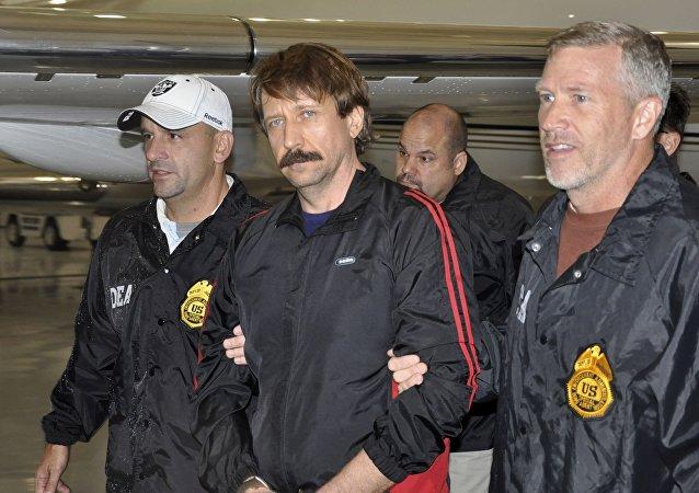 Víctor Bout, empresario ruso que cumple una condena de 25 años en EEUU