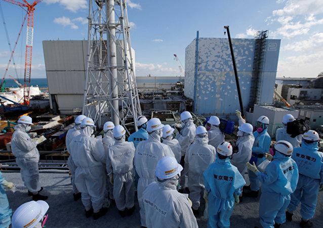 La central nuclear japonesa de Fukushima (archivo)