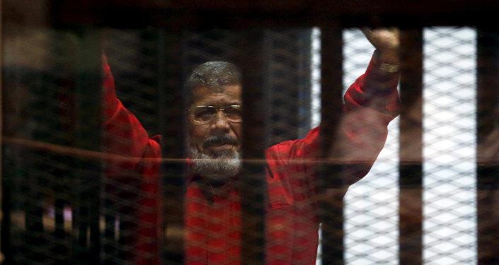 Former Egyptian President Mohamed Mursi (archivo)