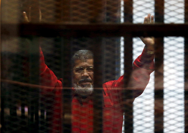 El expresidente egipcio Mohamed Mursi