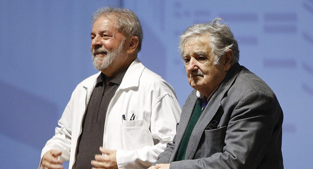 Luiz Inácio Lula da Silva y José 'Pepe' Mujica