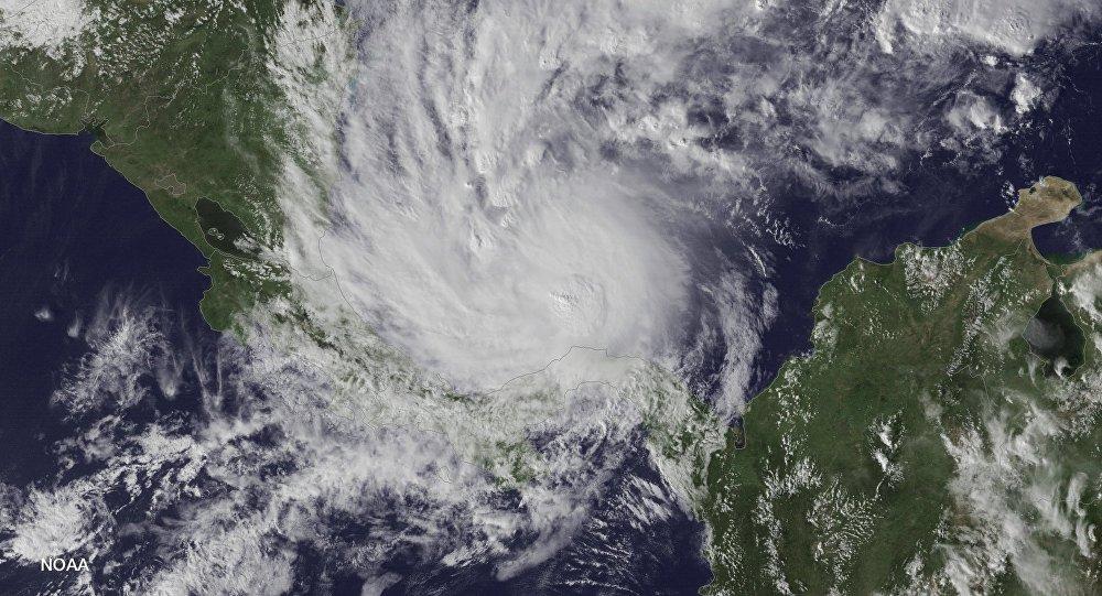 Una tormenta desde el espacio (imagen referencial)