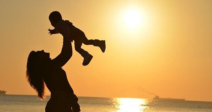 Madre y el niño