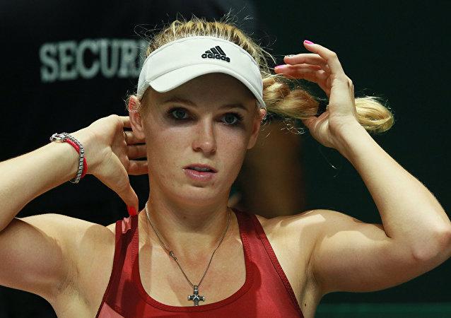 Caroline Wozniacki, la tenista danesa