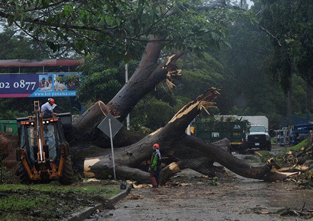 Consecuencias del huracán Otto