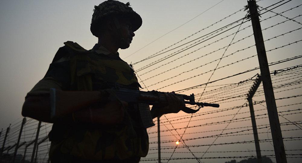 Un militar indio