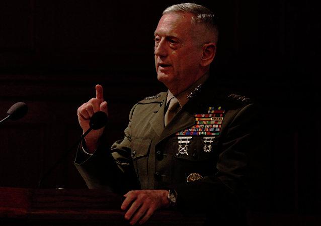 James Mattis, jefe de Pentágono